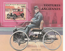 (21574) Guinée - Ancien Voitures Mini feuille - VF d'occasion 1998