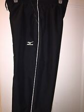 MIZUNO IMPERMALITE WOMEN'S BLACK WIND/WATER PROTECTION VOLLEYBALL PANT SIZE MED