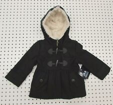 Toddler Girl's 3T Peacoat by Weather Tamer - Black