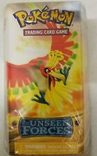 Pokemon EX-Unseen Forces GOLDEN SKY Starter Set Theme Deck Card Box! Ho-Oh Rare!