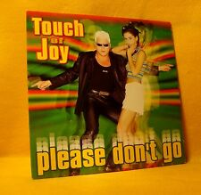 Cardsleeve Single CD Touch Of Joy Please Don't Go 2TR 1997 Belpop Dance