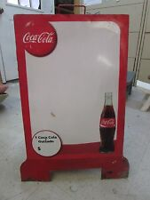 Old Coca Cola Sign-Mexican-Restaurant Bar-Antique-18x27-Two Sided-Menu Board