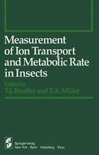 Measurement of Ion Transport and Metabolic Rate in Insects (Springer Series in E