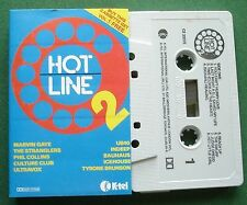 Hot Line 2 Stranglers UB40 Marvin Gaye Culture Club + Cassette Tape - TESTED