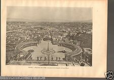 Cupola St. Peter's Basilica Papale di San Pietro / Rome Roma ITALY PLANCHE 1900s