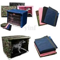 """Dog Pet  Crate Cage Kennel COVER Breathable Outdoor Waterproof Size 19""""-36"""" S-XL"""