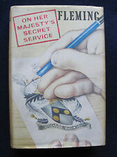 ON HER MAJESTY'S SECRET SERVICE by IAN FLEMING - LORD LUCAN Connection 1st Ed.