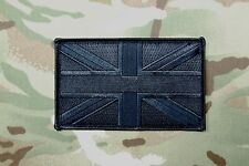 "Blackout Large UK Flag Patch 5"" x 3"" SAS SBS SRR SFSG USKSF Police Ghost SWAT"