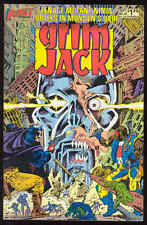 Grim Jack #26 First Comic Book TMNT Teenage Mutant Ninja Turtles Second Color