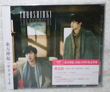 TOHOSHINKI Sakuramichi 2015 Taiwan Ltd CD+12P+Card (DBSK TVXQ) CD-Extra