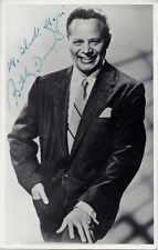 BILLY DANIELS ~BEST SIGNED AUTOGRAPH 1950s POSTCARD~RARE BLACK MAGIC INSCRIPTION