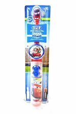 (1) KIDS TOOTHBRUSH ORAL B PRO-HEALTH STAGES DISNEY/PIXAR CARS BATTERY OPERATED