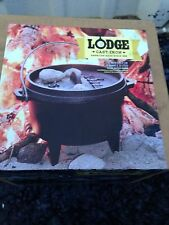 Lodge 1 one Quart QT Cast Iron Camp Dutch Oven--Brand New in Box, No Longer Made