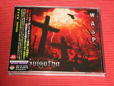 2015 W.A.S.P. WASP  Golgotha with One Bonus Track JAPAN CD