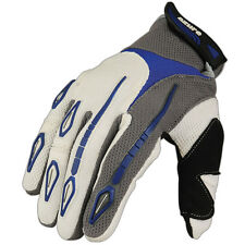 Motocross, Guantes Racing Ciclismo Mtb Enduro Mtb Mountain Bike Mx Todoterreno Azul París M
