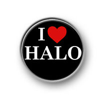 "HALO / 1"" / 25mm pin button / badge / gaming / online / console / Xbox / PS"