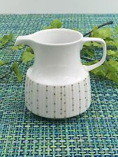 RARE ROSENTHAL MODULATION SHAPE REIGEN WHITE CREAMER WITH GOLD DOTS