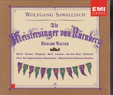 Wagner Die Meistersinger von Nürnberg Sawallisch 4 CD Opera