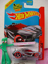 Case A 2015 Regular Treasure Hunt CHICANE #162 US ✰Chrome;oh5 Red✰Hot Wheels✰