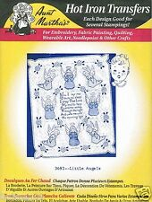 Little Angels Aunt Martha's Hot Iron Embroidery Transfer #3693