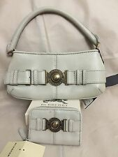 NWT Burberry Grainy Leather Shoulder Bag and Wallet Set