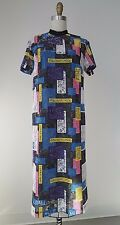 Christopher Kane Multi-Color Lace Embroidery detailed 3/4 Length Short Sleeve Dr