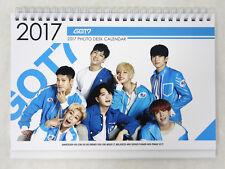 GOT7 - 2017-2018 DESK CALENDAR + STICKER K-POP