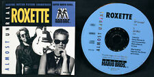 Roxette-Almost Unreal-2 Versions-Capitol-Vintage 1993 DJ CD Single With Artwork!