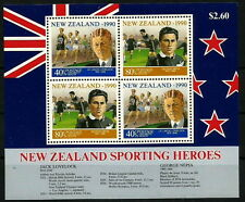 New Zealand MNH SS, Sports, Athletics, Soccer