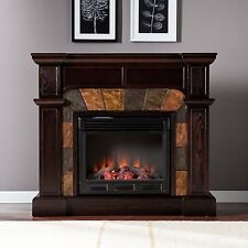 Southern Enterprises Cartwright Convertible Electric Fireplace, Espresso FE9287