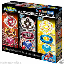 TAKARA TOMY BEYBLADE BURST B-21 CUSTOM SET ATTACK & BALANCE TYPE & GRIP BB83342