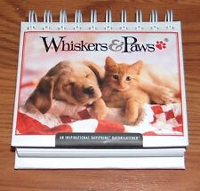 Whiskers & Paws 365-day Perpetual Desk Calendar