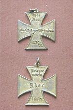 Seltenes Ehrenkreuz Kriegerverein Iber 1907