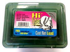 "Betts Hi Tider 5 Foot Bait Fishing Cast Net Lead 5HMPB Throw Net, 3/8"" Mesh Mono"