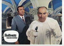 LOUIS DE FUNES FANTOMAS CONTRE SCOTLAND YARD 1967 VINTAGE LOBBY CARD #19
