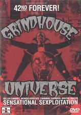GRINDHOUSE UNIVERSE Exploitation Horror Trailers OOP Ban 1 LIMITED EDITION NEW