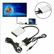 VGA To HDMI Adapter Output 1080P HD And USB Audio HDTV Video Cable Converter UR