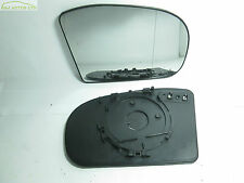 (A99) MERCEDES BENZ C & E CLASS W203 & W211 DRIVER SIDE HEATED DOOR MIRROR GLASS