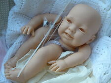 "REBORN BABY-DOLL KIT ""SUSIE"" Full Limb + 20in DISK BODY  . NEW SCULPT"