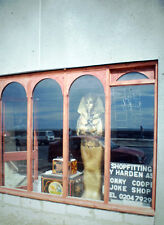 Vintage Kodak Kodachrome Slide Negative, Shop Display, Mummy Tomb, Blackpool