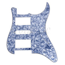 Gray Pearl Electric Guitar Pickguard Scratch Plate HSH For Fender Strat Parts