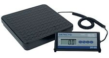 NEW Detecto DR400C Portable Digital Floor Weighing Scale
