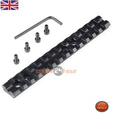 "5.5"" Tactical Picatinny Weaver 20mm Rail Scope Mount 13 Slots For Rifle Shotgun"