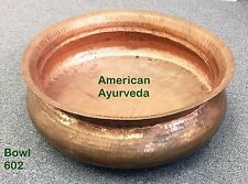 Very Large Multipurpose pure Copper hammered Bowl