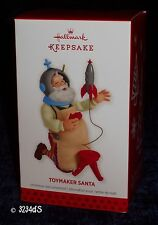 2013 Hallmark TOYMAKER SANTA with Spaceship or Rocket 14th in Ornament Series