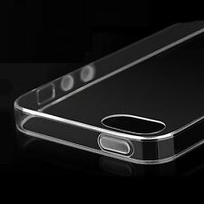 Super Slim 0.2mm Transparent Clear Soft Case TPU Rubber Case FOR iPhone 4 4s