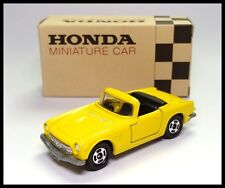 TOMICA OPEN ROOF HONDA SPORTS S800M 1/51 TOMY MADE IN JAPAN NEW 23 S800 YELLOW