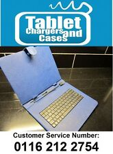BLUE USB Keyboard Case/Stand for Gemini JoyTAB Duo 9.7 Pro-GEM10313S Tablet PC