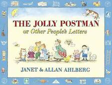 The Jolly Postman Or Other People's Letters By Janet & Allan Ahlberg - Hardcover