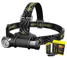 Nitecore HC30 1000 Lumen LED Headlamp w/ 2 x 18650 Batteries & Charger Kit